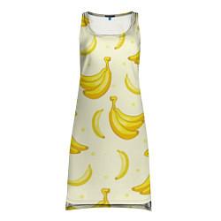 Туника женская Банана цвета 3D-принт — фото 1