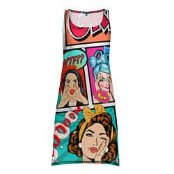 Туника женская POP ART цвета 3D-принт — фото 1