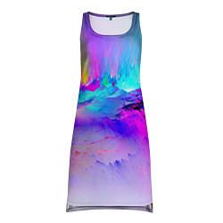 Туника женская Абстракция цвета 3D-принт — фото 1