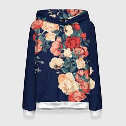 Женская толстовка Fashion flowers
