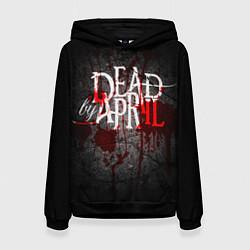 Толстовка-худи женская Dead by April цвета 3D-черный — фото 1