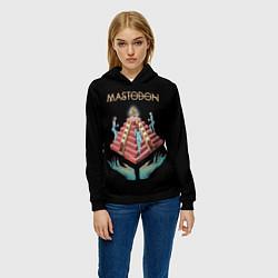 Толстовка-худи женская Mastodon: Pyramid of Death цвета 3D-черный — фото 2