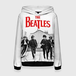 Толстовка-худи женская The Beatles: Break цвета 3D-черный — фото 1