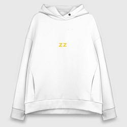 Толстовка оверсайз женская Brazzers: Sexy Style цвета белый — фото 1