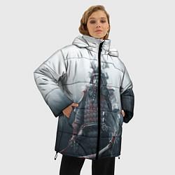 Женская зимняя 3D-куртка с капюшоном с принтом Shadow Tactics, цвет: 3D-черный, артикул: 10115409206071 — фото 2