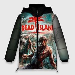 Женская зимняя 3D-куртка с капюшоном с принтом Dead Island, цвет: 3D-черный, артикул: 10129111106071 — фото 1