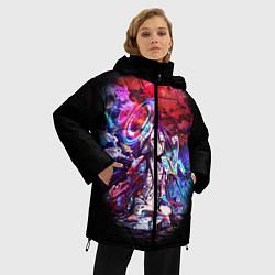 Куртка зимняя женская No Game No Life Zero цвета 3D-черный — фото 2