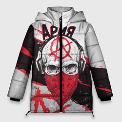 Куртка зимняя женская Ария: Анархия цвета 3D-черный — фото 1
