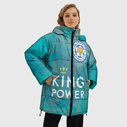Куртка зимняя женская Лестер Сити - фото 2