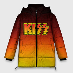 Куртка зимняя женская KISS цвета 3D-черный — фото 1