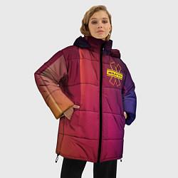 Женская зимняя 3D-куртка с капюшоном с принтом NILETTO, цвет: 3D-черный, артикул: 10211067306071 — фото 2