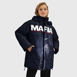 Куртка зимняя женская Mafia цвета 3D-черный — фото 2
