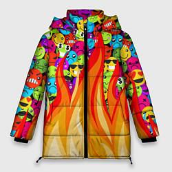 Куртка зимняя женская SLAVA MARLOW - Смайлики - фото 1