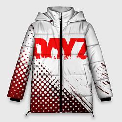 Женская зимняя 3D-куртка с капюшоном с принтом Dayz, цвет: 3D-черный, артикул: 10287511906071 — фото 1