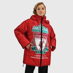 Куртка зимняя женская Liverpool цвета 3D-черный — фото 2