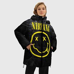 Куртка зимняя женская Nirvana Smoke цвета 3D-черный — фото 2