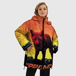 Куртка зимняя женская The Prodigy: Red Fox цвета 3D-черный — фото 2