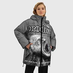 Женская зимняя 3D-куртка с капюшоном с принтом The Prodigy: Madness, цвет: 3D-черный, артикул: 10063918706071 — фото 2