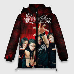 Куртка зимняя женская Bullet for my valentine цвета 3D-черный — фото 1