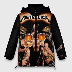 Куртка зимняя женская Metallica Band - фото 1