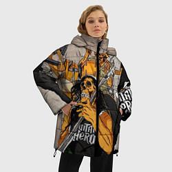 Куртка зимняя женская Metallica: Guitar Hero - фото 2