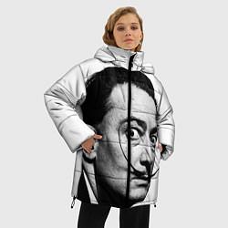 Куртка зимняя женская Сальвадор Дали - фото 2