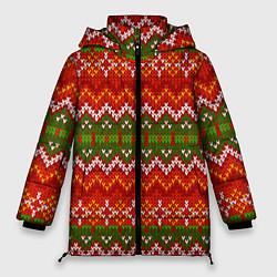 Куртка зимняя женская Зимний узор - фото 1