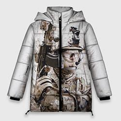 Куртка зимняя женская ФСБ Альфа цвета 3D-черный — фото 1
