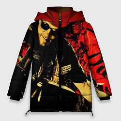 Женская зимняя 3D-куртка с капюшоном с принтом Redwood original, цвет: 3D-черный, артикул: 10078855706071 — фото 1