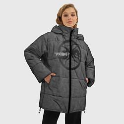 Куртка зимняя женская The Prodigy: Dark Asphalt цвета 3D-черный — фото 2