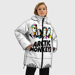 Куртка зимняя женская Arctic Monkeys: Music Wave - фото 2