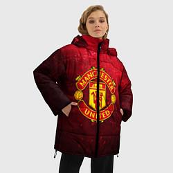 Куртка зимняя женская Манчестер Юнайтед - фото 2