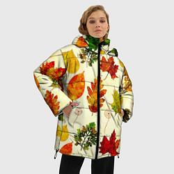 Куртка зимняя женская Осень цвета 3D-черный — фото 2