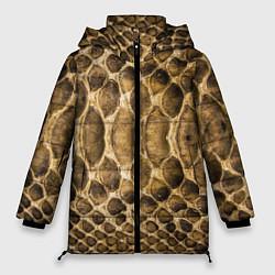Куртка зимняя женская Змеиная кожа - фото 1