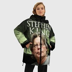 Женская зимняя 3D-куртка с капюшоном с принтом Bestselling Author, цвет: 3D-черный, артикул: 10095786806071 — фото 2