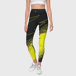 Леггинсы женские Bona Fide Одежда для фитнеcа цвета 3D-принт — фото 2
