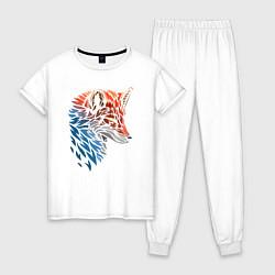 Женская пижама Пестрая лисица