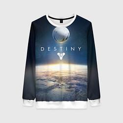 Свитшот женский Destiny 11 цвета 3D-белый — фото 1