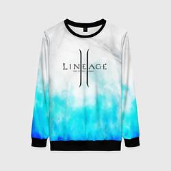 Свитшот женский LINEAGE 2 цвета 3D-черный — фото 1