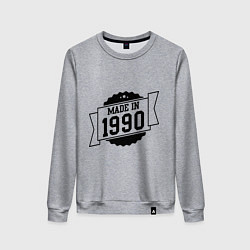 Женский свитшот Made in 1990