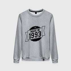 Женский свитшот Made in 1993