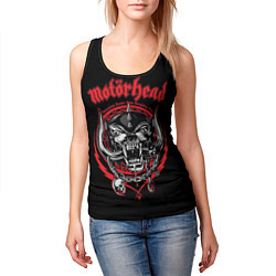 Майка-безрукавка женская Motorhead цвета 3D-черный — фото 2
