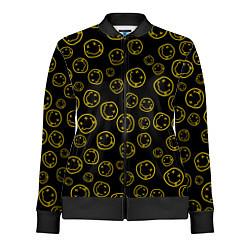 Олимпийка женская Nirvana Pattern цвета 3D-черный — фото 1