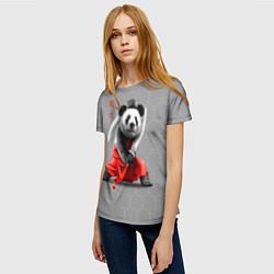 Футболка женская Master Panda цвета 3D — фото 2