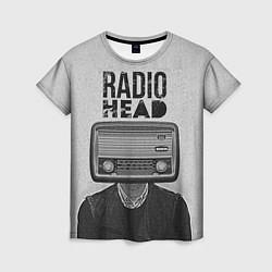 Футболка женская Radiohead Retro цвета 3D — фото 1
