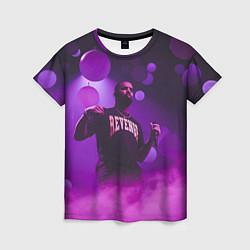 Футболка женская Drake: Revenge цвета 3D — фото 1