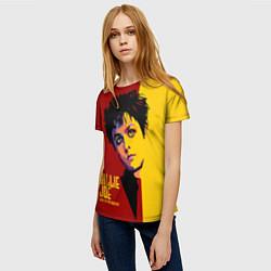 Футболка женская Green Day: Billy Joe цвета 3D — фото 2