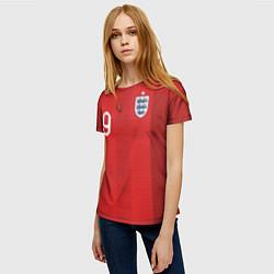 Футболка женская Kane Away WC 2018 цвета 3D-принт — фото 2