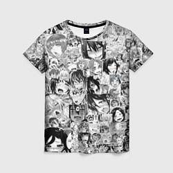 Женская футболка AHEGAO