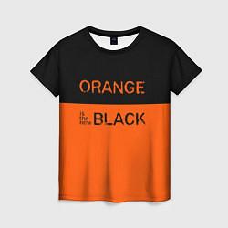 Футболка женская Orange Is the New Black цвета 3D — фото 1